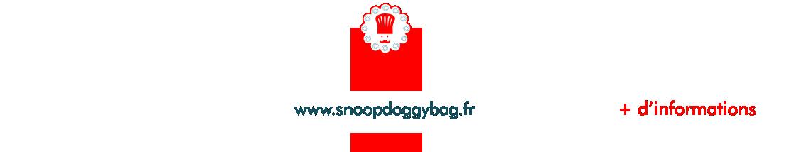 Page d'accueil de notre site internet snoop doggy bag